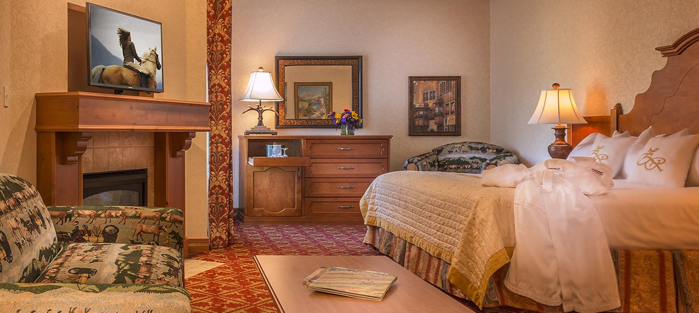 Zermatt Utah Deluxe King Suite